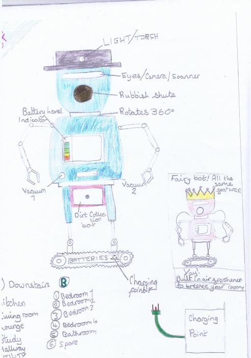 Rebecca Robot 1