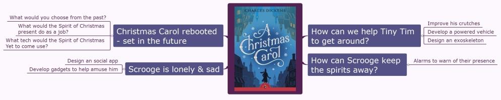 A Christmas Carol map